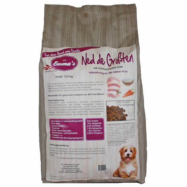 Emmas Aliments pour chiens Ned de Largest dry food