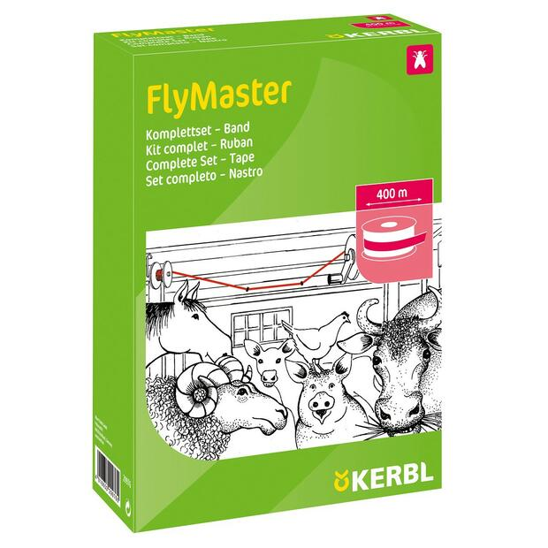 Papier tue-mouches stable FlyMaster Band 400 m