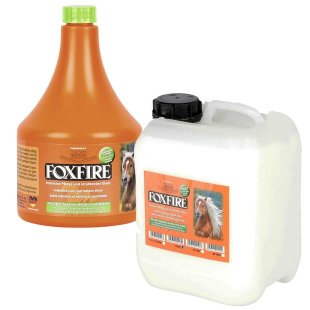 PHARMAKAS HORSE fitformfoxfire coat gloss spray care